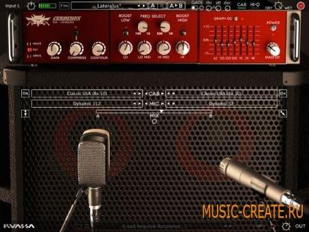 Kuassa - Cerberus Bass Amp v1.0.1 VST VST3 x86 x64 (Team CHAOS) - гитарный усилитель