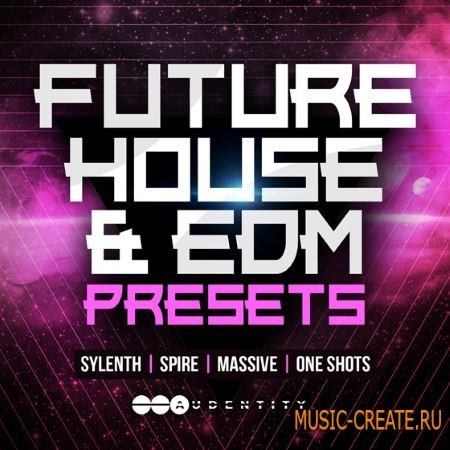 Audentity - Future House and EDM Presets (WAV FXB NMSV SBF) - сэмплы Future House, EDM