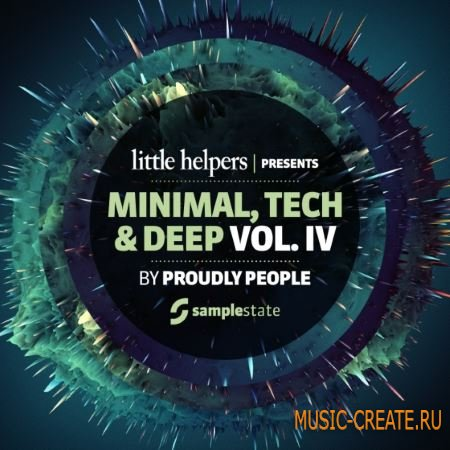 Samplestate - Little Helpers Vol.4 Proudly People (MULTiFORMAT) - сэмплы Minimal, Tech, Techno, Deep