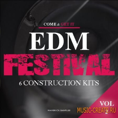 Maverick Samples - EDM Festival Vol.2 (WAV MiDi) - сэмплы EDM