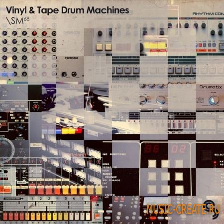 Sample Magic - Vinyl and Tape Drum Machines (MULTiFORMAT) - сэмплы драм машин