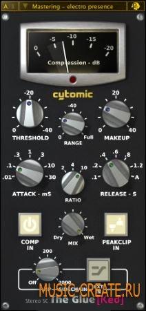 Cytomic The Glue v1.3.19 (Team R2R) - плагин компрессор