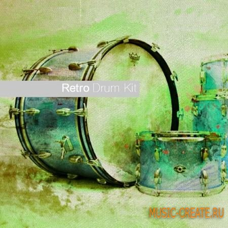Sample Modern - Retro Drum Kit (KONTAKT) - библиотека ударных