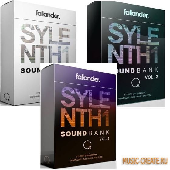 Fallander - Sylenth1 Soundbank Vol.1-3 (FXP FXB)