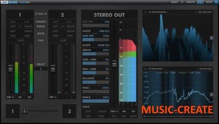 DMG Audio - Dualism v1.05 WiN/OSX (Team R2R) - плагин стерео-контроль, анализатор