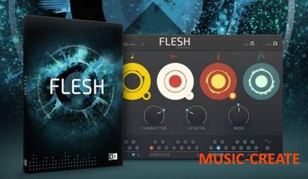 Native Instruments - Tim Exile Flesh Synth v1.0.0 for Reaktor 6 WiN/MAC - синтезатор для Reaktor