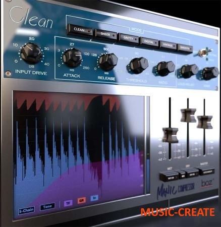 Boz Digital Labs - Manic Compressor v1.0.2 WiN/MAC RETAiL - плагин компрессор