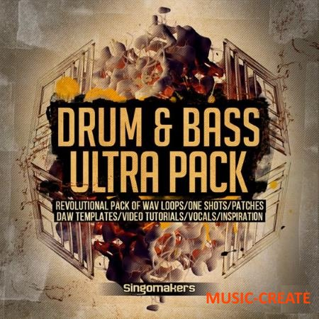 Singomakers - Drum and Bass Ultra Pack (MULTiFORMAT) - сэмплы Drum and Bass