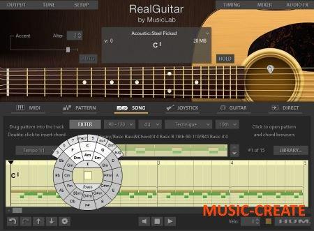 MusicLab - RealGuitar 4.0.0.7231 WiN/OSX (Team R2R) - виртуальная гитара