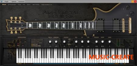 Ample Sound AME2 v2.5.5 WiN/OSX (Team R2R) - виртуальная гитара ESP Eclipse