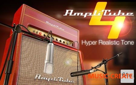 IK Multimedia - AmpliTube 4 v4.2.0 Win/OSX (Team R2R) - гитарный процессор