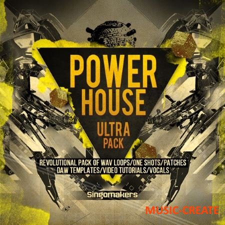 Singomakers - Power House Ultra Pack (MULTiFORMAT) - сэмплы Wobble House, Power House, Classic House, Future House