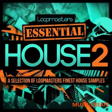 Loopmasters - Essentials 40 - House Vol.2 (WAV) - сэмплы House