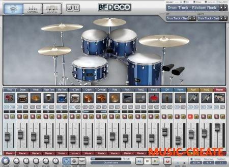 FXpansion - BFD Eco Full v1.5.0.11 WIN OSX (Team R2R) - модуль акустических барабанов