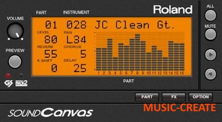 Roland - Sound Canvas VA v1.0.0 (Team R2R) - звуковой модуль