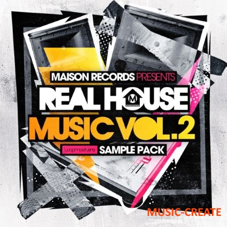 Loopmasters - Maison Records Real House Music Vol 2 (MULTiFORMAT) - сэмплы House
