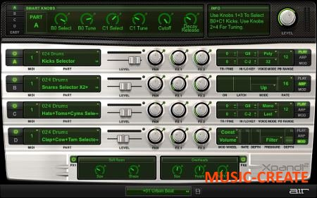 AIR Music Tech - Xpand!2 v2.2.7 WIN VST (Team AudioUTOPiA) - виртуальный инструмент