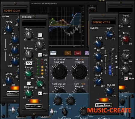 OverTone - DSP Plugin Pack Jan 2016  WiN / MACOSX / Linux (TEAM R2R) - сборка плагинов