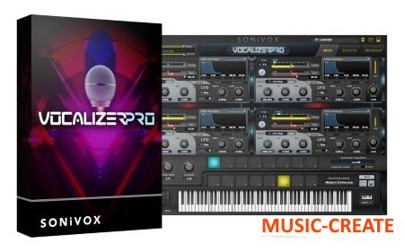 SONiVOX - VocalizerPro v1.3 WIN Internal (Team R2R) - вокодер инструмент