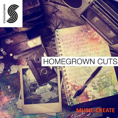 Samplephonics - Homegrown Cuts (MULTiFORMAT) - сэмплы Hip Hop