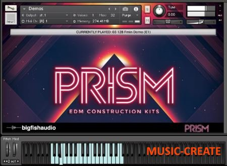 Big Fish Audio - PRISM EDM Construction Kits (MULTiFORMAT) - сэмплы EDM