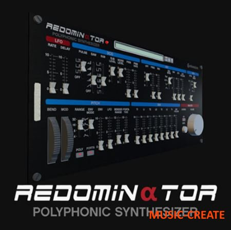AudioRealism - ReDominator v1.0.2 R2 WiN/MAC (Team R2R) - синтезатор