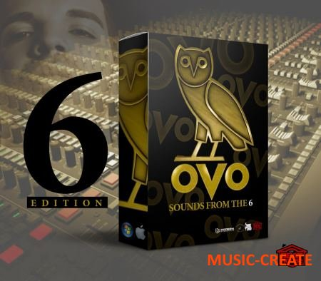 The Beat House - OVO Sounds From The 6 (WAV MiDi) - сэмплы ударных