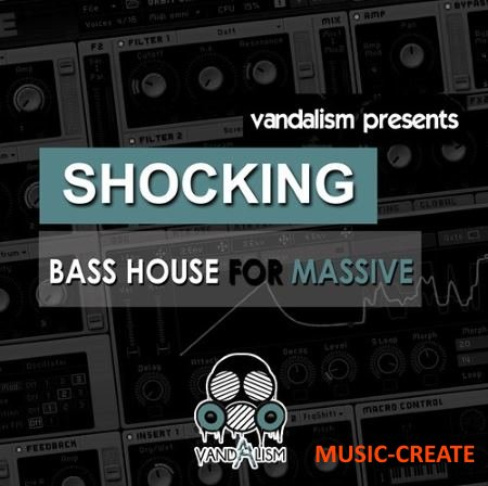 Vandalism - Shocking Bass House For MASSiVE (Massive Presets)
