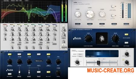 A.O.M. Factory Invisible Limiter, Wave Shredder, Stereo Imager D VST v1.7.4 (WORKiNG ASSiGN) - плагин лимитер, FSU, визуализация