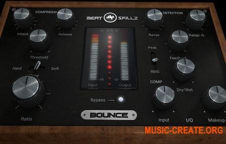 BeatSkillz - Bounce v1.2 WIN OSX (Team R2R) - плагин компрессор, обнаружение