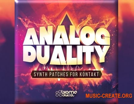 Biome Digital - Analog Duality (KONTAKT) - ������ ������������