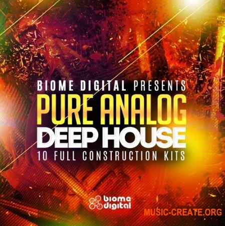 Biome Digital - Pure Analog Deep House (MULTiFORMAT) - сэмплы Deep House