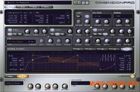 Cakewalk - Dimension Pro v1.5.5.16 (TEAM R2R) - синтезатор