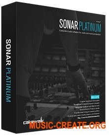 Cakewalk - SONAR Platinum 23.1.0.22 with Plugins (Team P2P) - виртуальная студия