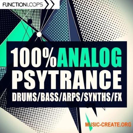 Function Loops - 100% Analog PsyTrance (WAV) - сэмплы PsyTrance