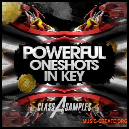 Class A Samples - Powerful Oneshots In Key (WAV) - сэмплы Progressive House, Electro House