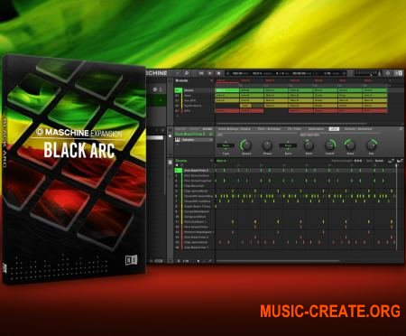 Native Instruments - Maschine Expansion Black Arc v1.0.0 WIN OSX (Team R2R)