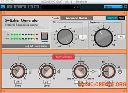 Neoduction Tools - Swazher Generator v1.0.0 (Team R2R) - плагин обертон возбудитель
