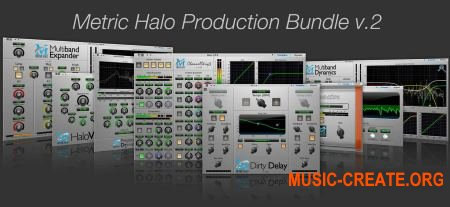 Metric Halo MH - Production Bundle v2.0.2 (Team R2R) - сборка плагинов