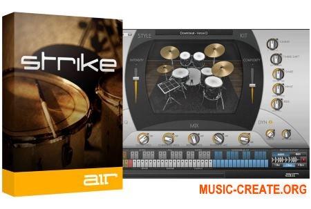AIR Music Technology - Strike v2.0.7 (Team R2R) - драм инструмент, аранжировщик