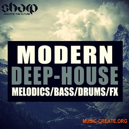 SHARP - Modern Deep House (WAV) - сэмплы Deep House