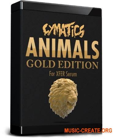 Cymatics - Animals for Serum Gold Edition (WAV SHP FXP Ableton Project)