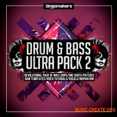 Singomakers - Drum and Bass Ultra Pack Vol.2 (MULTiFORMAT) - сэмплы Drum and Bass