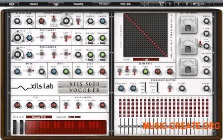 XILS-lab - XILS Vocoder 5000 v1.0.4.CE Win32/64 AAX RTAS VST3 VST (Team V.R) - вокодер