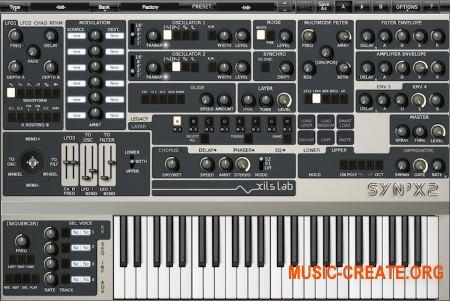 XILS-Lab - Syn'X v2.0.2 CE AAX RTAS VSTi (Team V.R) - синтезатор