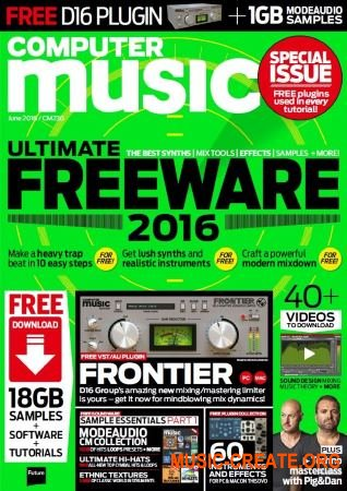 Computer Music - June 2016 (PDF + All Content)