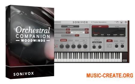 SONiVOX - Orchestral Companion Woodwinds v1.4 (Team R2R) - оркестровые деревянные духовые