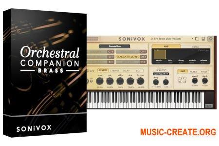 SONiVOX - Orchestral Companion Brass v1.4 (Team R2R) - виртуальный инструмент оркестровых духовых медных инструментов