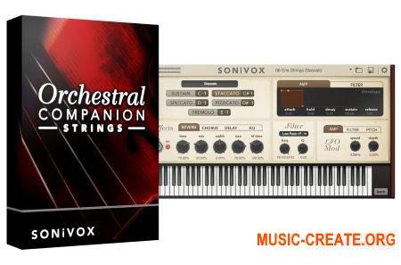 SONiVOX - Orchestral Companion Strings v1.4 (Team R2R) - виртуальный инструмент оркестровых струнных инструментов