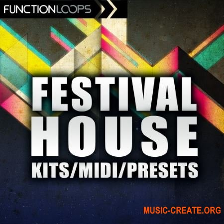 Function Loops - Festival House (WAV MiDi) - сэмплы House